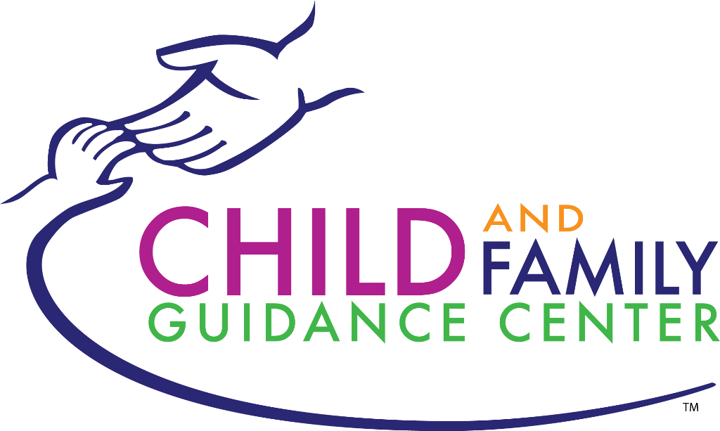 Child and Family Guidance Center logo of a helping hand