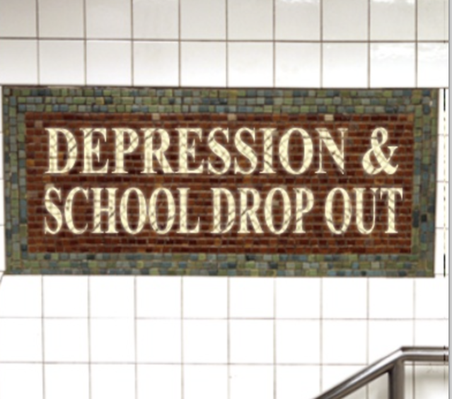 Depression and School Drop-Out Rates